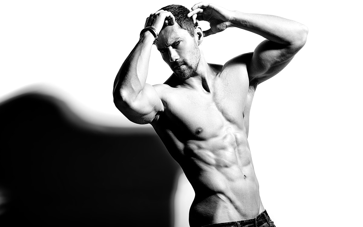 model-male-B&W-photography