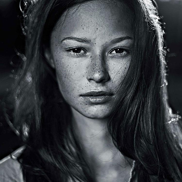 Teenage portrait headshots